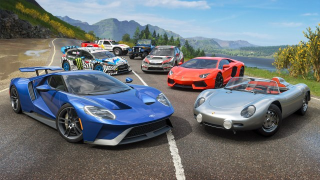 Forza Horizon 4 Welcome Pack cars