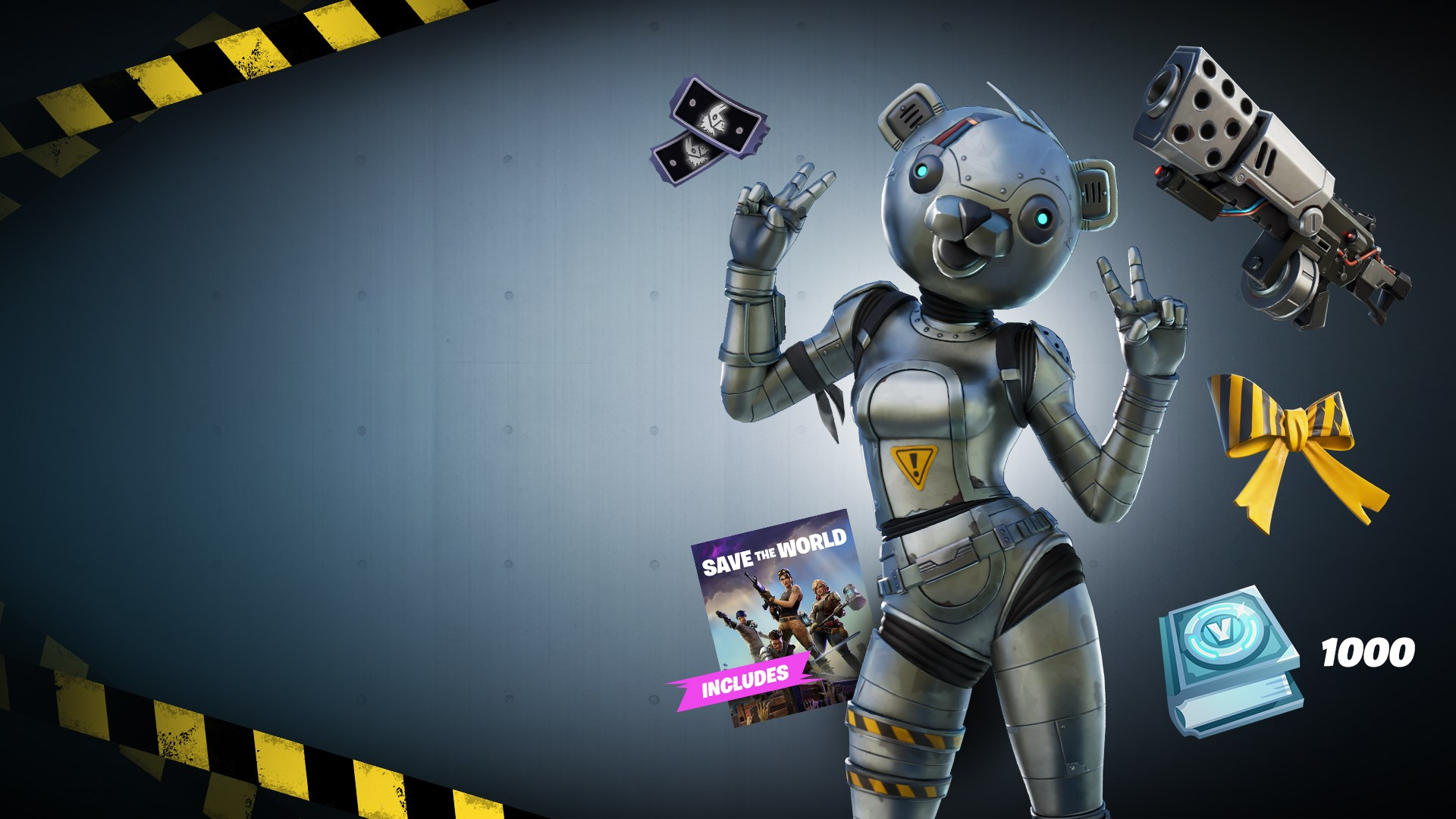 Cost To Upgrade Fortnite Schematics The Metal Team Leader Pack Arrives For Fortnite On Xbox One Ps4 And Pc Thexboxhub