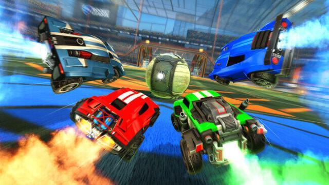 rocket league cars