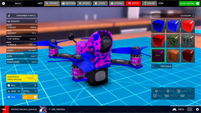 The Drone Racing League Simulator Review