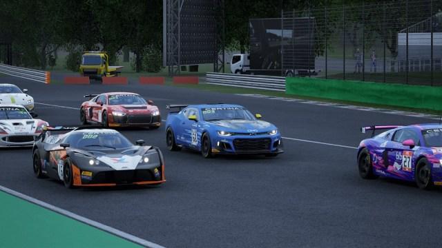 Assetto Corsa Competizione GT4 dlc