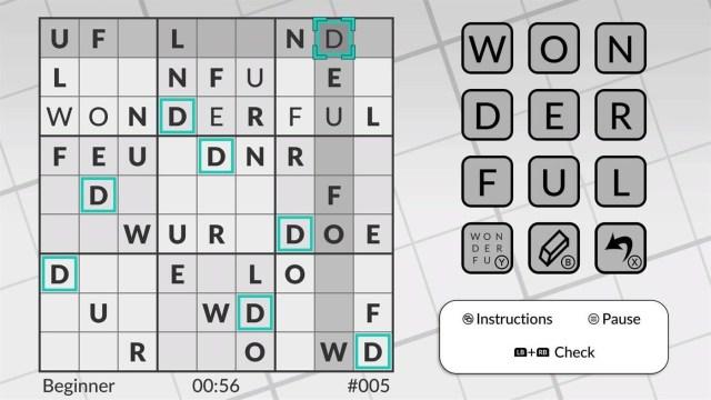 word suduko by powgi review xbox 1