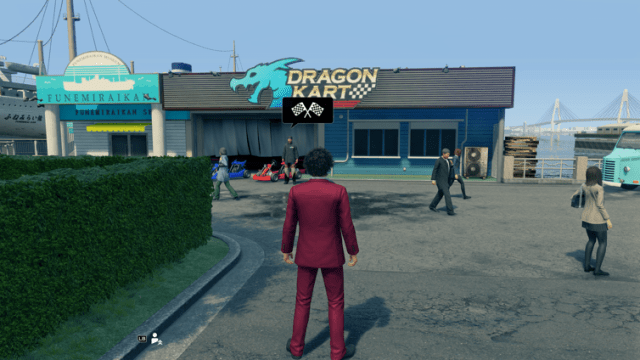 yakuza like a dragon dragon kart
