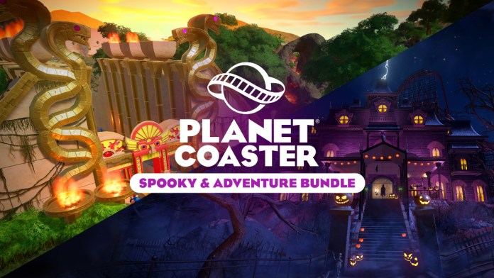 planet coaster spooky and adventure