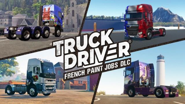 truck driver france dlc