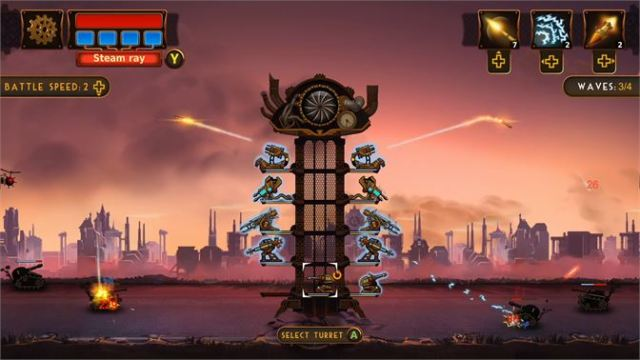 Steampunk Tower 2 Xbox Review