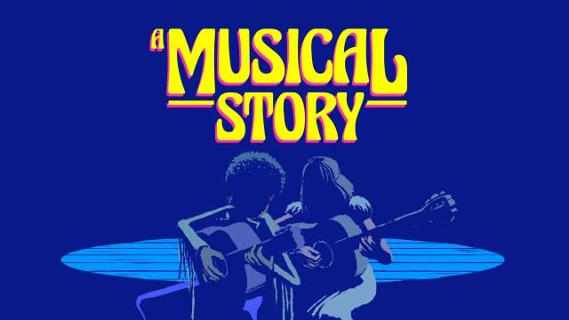 a musical story header
