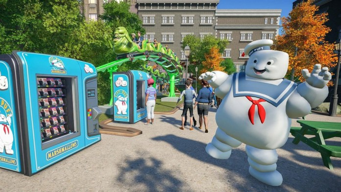 Planet Coaster: Ghostbusters Review