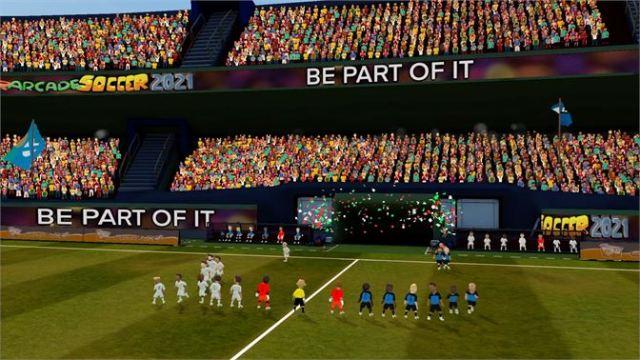 Super Arcade Soccer 2021 launch