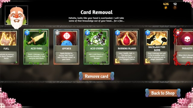 rise of the slime Store - Card Removal