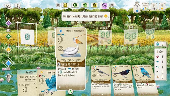 Wingspan Video Game