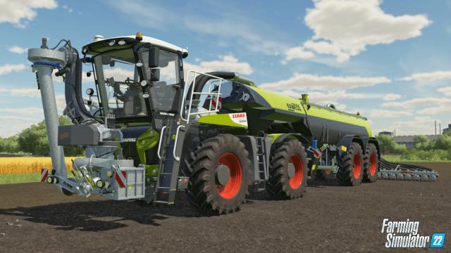 farming simulator 22 CLAAS Xerion Saddle Trac