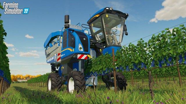 farming simulator 22 New Holland Braud 9070L