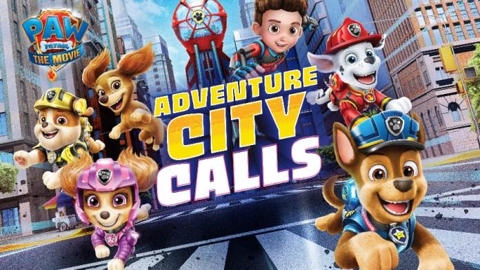 paw patrol adventure city calls header