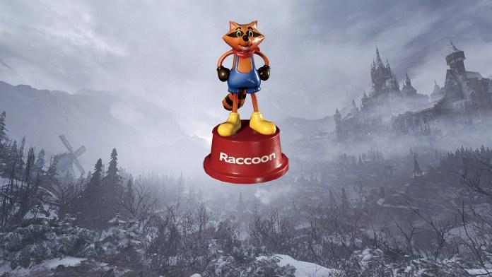 resident evil village mr raccoon weapon charm