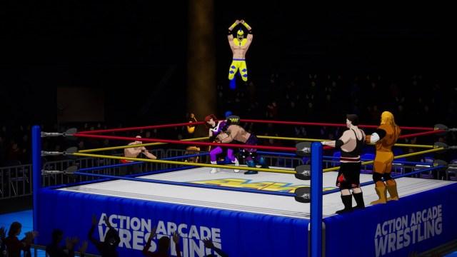 Action arcade wrestling xbox