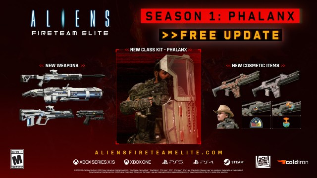 aliens fireteam elite season 1 phalanx