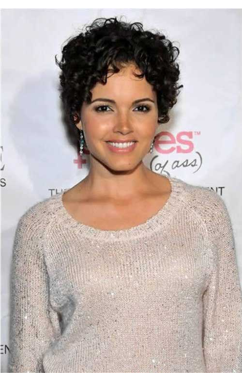 15 Short Curly Pixie Hairstyles The Xerxes
