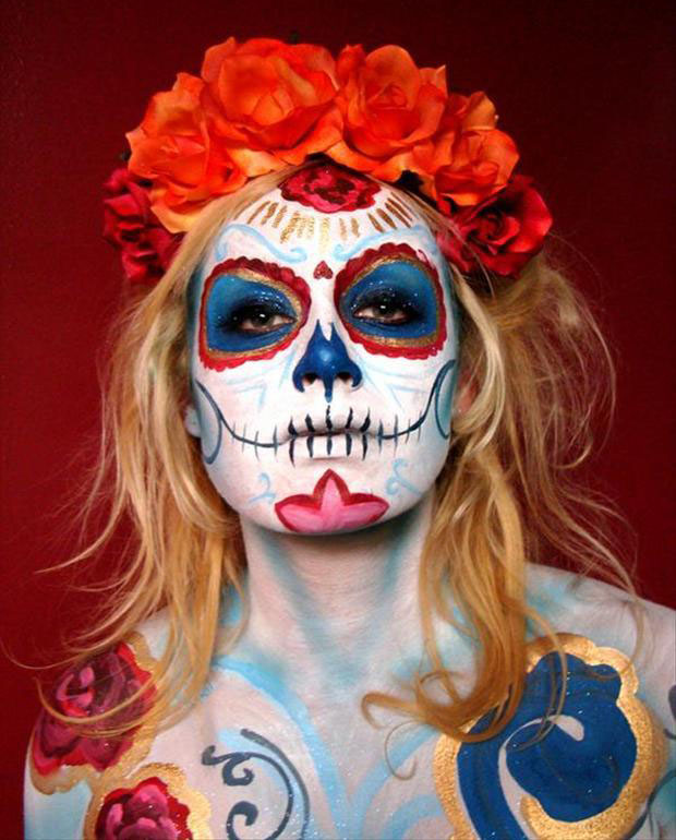... halloween face paint ideas ...