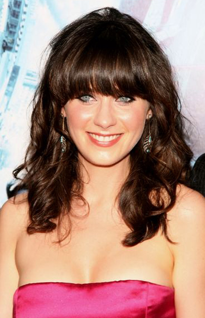 Best Curly Hairstyles With Bangs The Xerxes