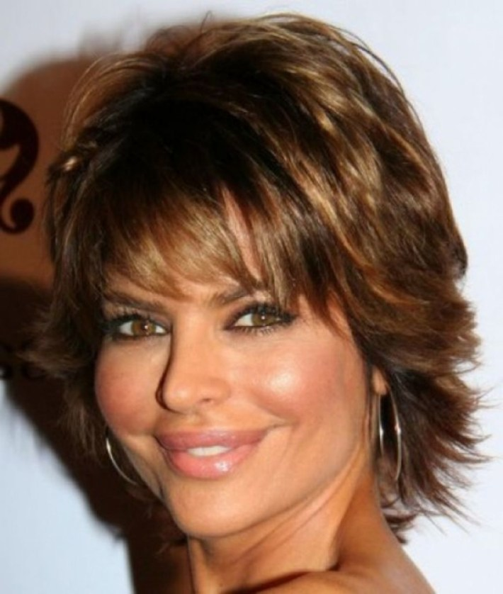 short layered hairstyles for women over 50 - the xerxes