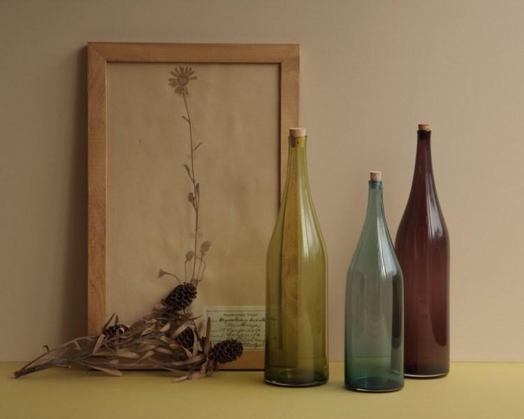FLASKAのガラス - ボトル