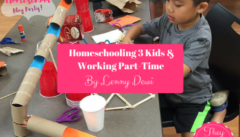 Homeschooling 3 kids