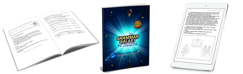 Grammar Galaxy: No more boring grammar lessons in this planet! Language Arts | English | Vocabulary | Punctuation | Charlotte Mason