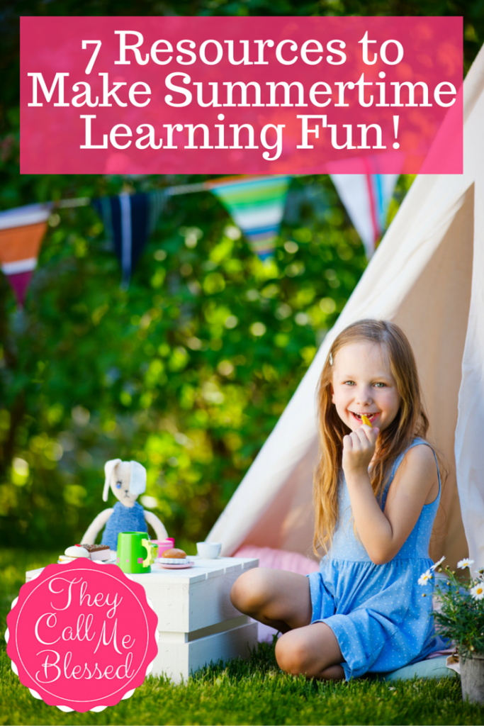 7 Resources to Make Summer Learning Fun | Summer Learning Resources | Summer Learning | Summer Fun Resources