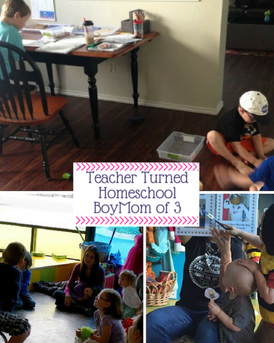 Teacher Turned homeschool BoyMom of 3