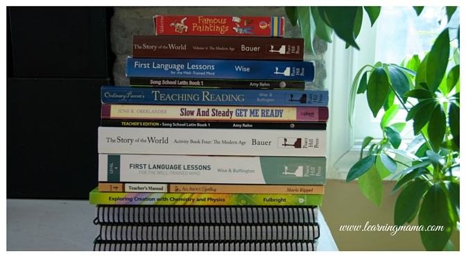 Our Relaxed Classical Homeschool: curriculum choices