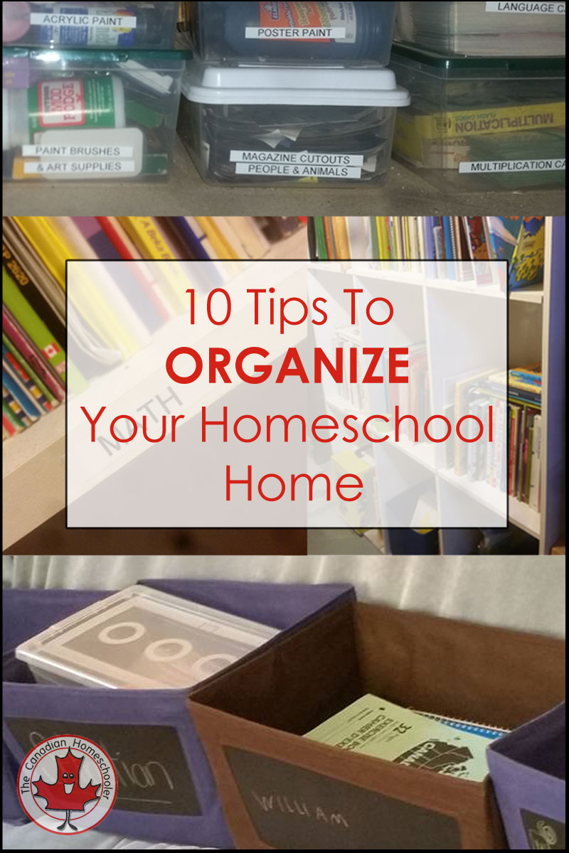 10_tips_organize_homeschool_home