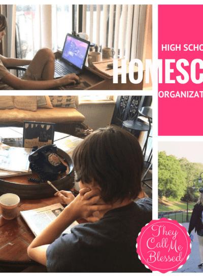 High School Homeschool Organization: Keep It Simple and Enjoy the Good Stuff!