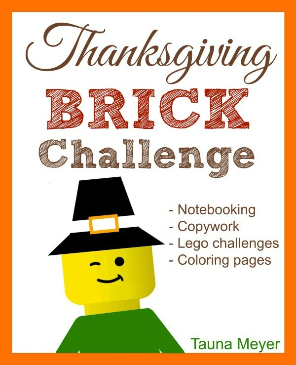 Thanksgiving Resources -Thanksgiving LEGO Challenge - Thanksgiving Activities - Thanksgiving Homeschool Resources