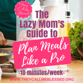 The Lazy Mom's Guide to Plan Meals Like a Pro