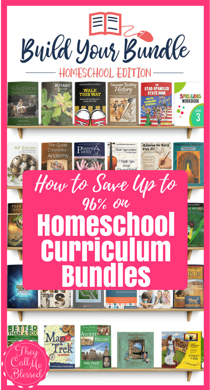 how to save 90  on homeschool curriculum bundles