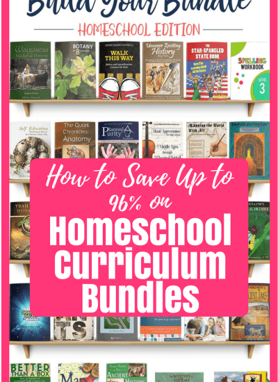 How to Save Up to 96% on Homeschool Curriculum Bundles
