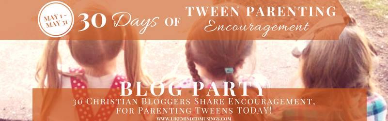 Tween Parenting Blog Party