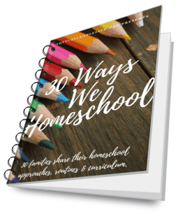 30 Ways We Homeschool eBook spiral