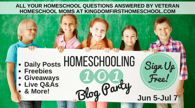Homeschooling 101 Blog Party: All your homeschool questions answered by veteran homeschool moms at KingdomFirstHomeschool.com