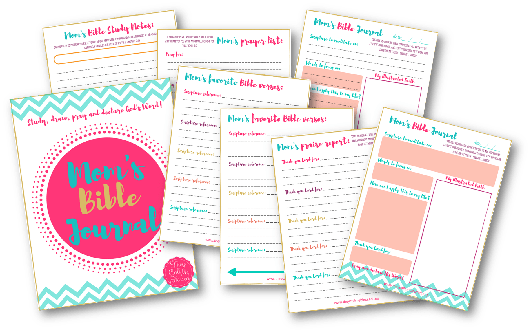 Printable Bible Pages