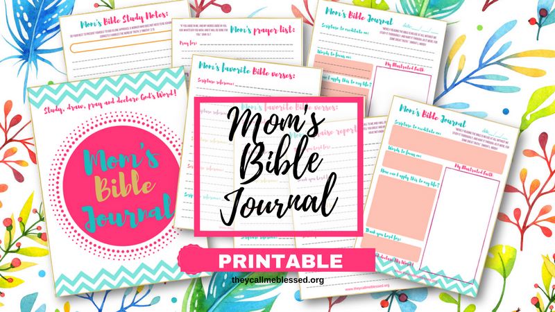 Mom's Bible Journal Printable