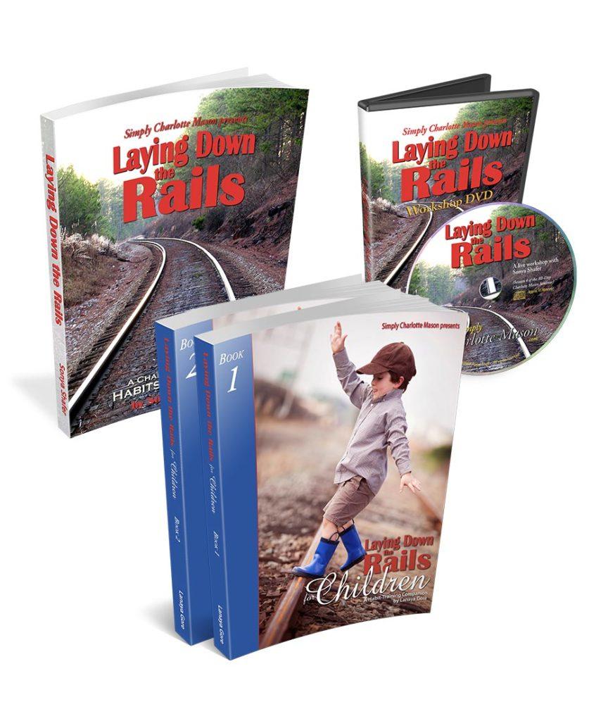 Charlotte Mason Homeschool Approach | Laying Down the Rails | Simply Charlotte Mason | Charlotte Mason Habit Training | Charlotte Mason Character Training