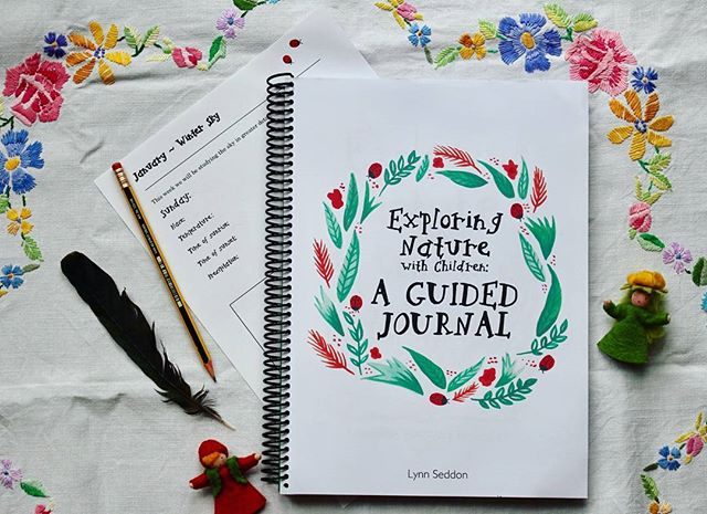 Exploring Nature With Children Guided Journal | Nature Study Journal | Nature Journal | Nature Study Curriculum | Nature Study for Homeschool | Explore Nature With Kids | Homeschool Nature Studies | Charlotte Mason Nature Study | Nature Study Resources