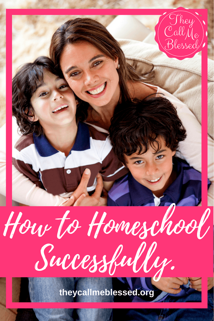 Homeschool Successfully Blog Party & Giveaway - Every answer to your homeschool questions and every step you need to take to start homeschooling successfully today!