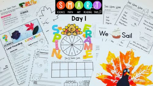 Thanksgiving Jar - 30 Days of Gratitude - Thanksgiving Resources - Free Thanksgiving - Teaching Kids Gratitude