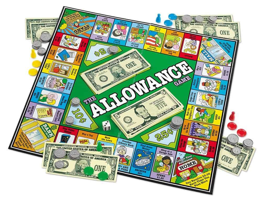 Homeschool Math: The Allowance Game.