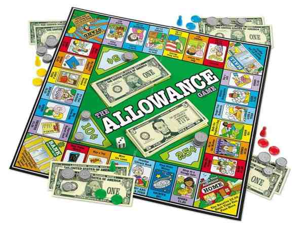 Homeschool Math: The Allowance Game.
