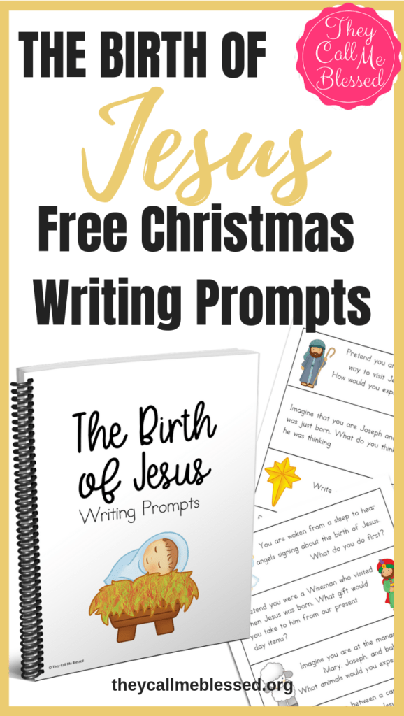 Christmas Writing Prompts.The Birth Of Jesus Christmas Writing Prompts