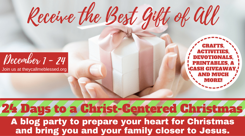 24 Days to a Christ-Centered Christmas.